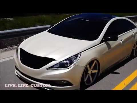 Live Life Custom Slammed Hyundai Youtube