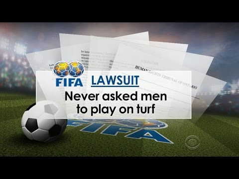 "Top women's soccer players launch ""turf war"" against World Cup"
