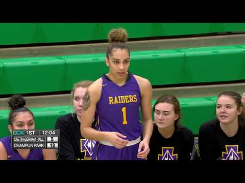 Cretin Derham Hall vs. Champlin Park Girls High School Basketball