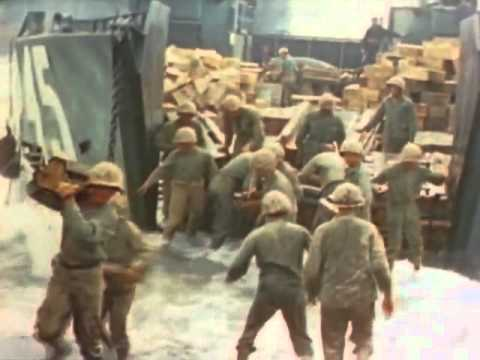 THE BATTLE OF IWO JIMA! - WWII Original U.S Government Military Documentary - 1945