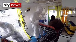 Coronavirus: Out with Brussels first responders