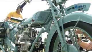 Veterán motorok dübörögtek Gyulán
