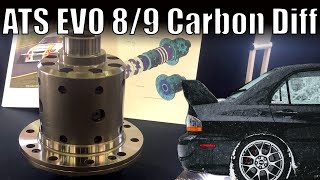EVO Carbon Limited Slip Differentials - ATS  // Mitsubishi EVO 8 // EVO 9