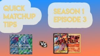 Quick Matchup Tips Episode 3 (Volcanion) - Pokemon Trading Card Game Online