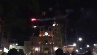 Castillo de la fiesta del 3 de mayo! Manuel doblado