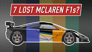 The Amazing McLaren F1 Stories You