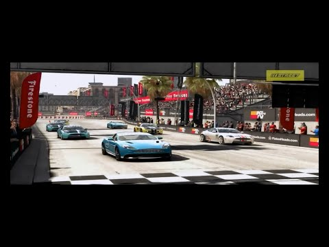 GRID Autosport  Karrier 2. rész- 'Utcai' Street Mód - Setup OFF, HD!!