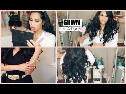 Get Ready With Me Last Minute Holiday Party - Fastest Makeup And Hair I've Ever Done MissLizHeart