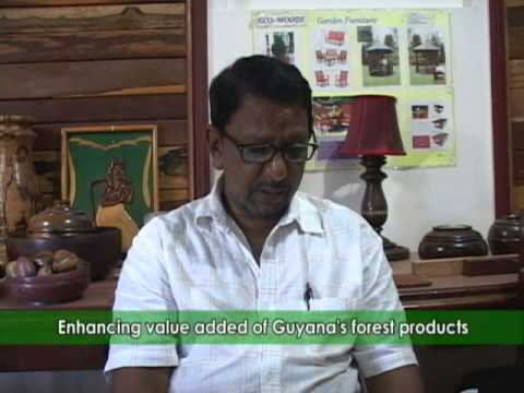 Enhancing value added of Guyana's forest products