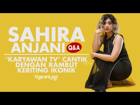 Exclusive Interview Sahira Anjani - 'Karyawan TV' Cantik