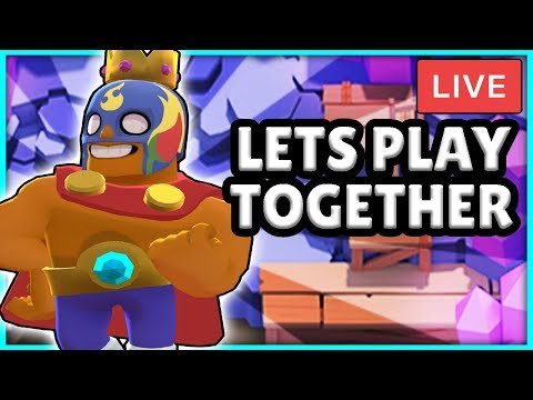 BRAWL STARS LIVE STREAM! - ROAD TO 1000 SUBS! PLAYING WITH VIEWERS - PUSHING WITH MAXED BRAWLERS!