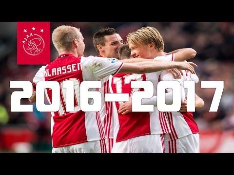 AFC Ajax Alle Goals Seizoen 2016-2017 (HD)