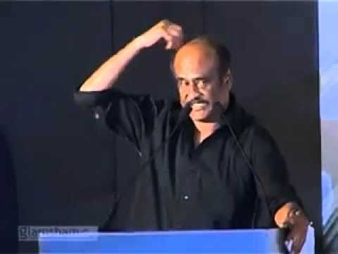 Funny Speech by Rajini Kanth about Robo Movie