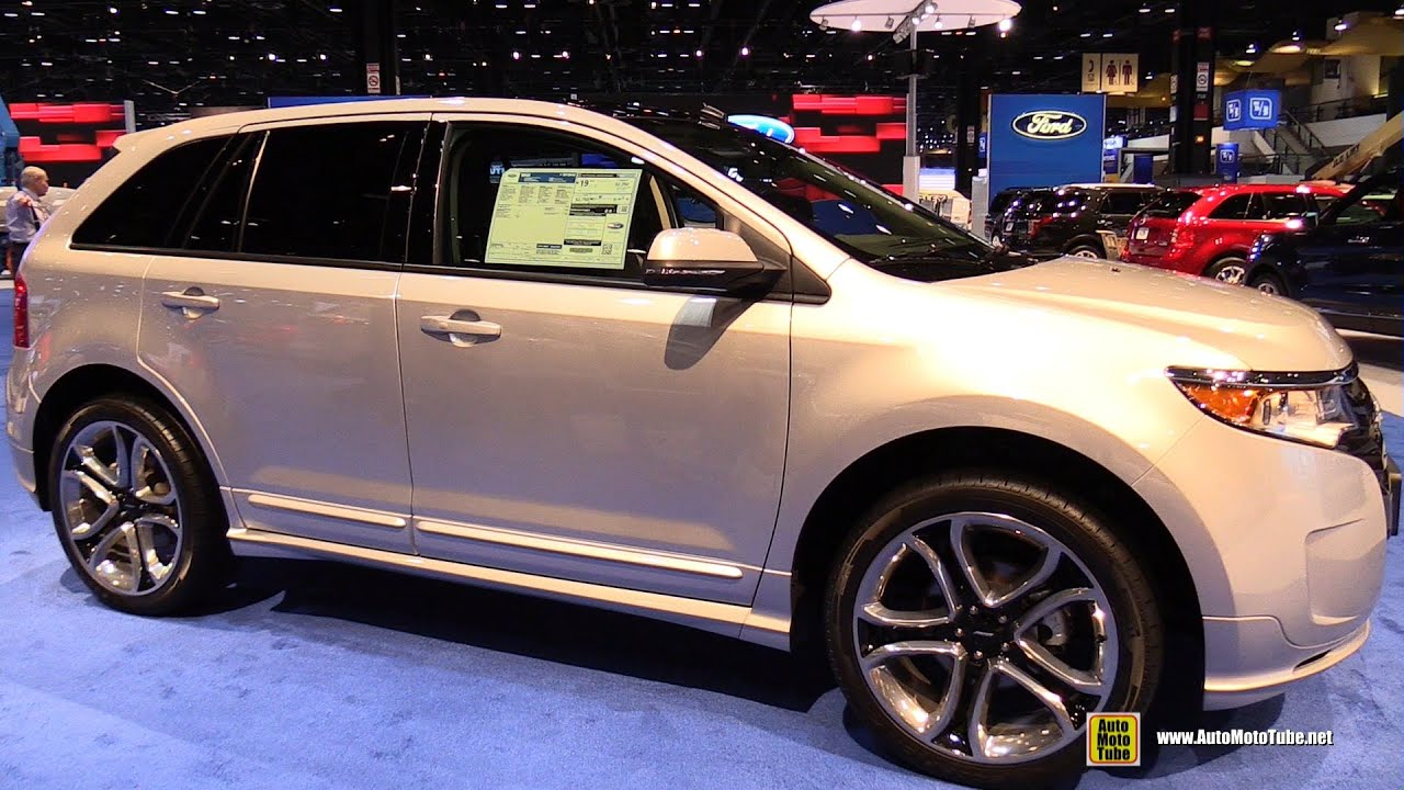 2014 Ford Edge Sport Awd Exterior And Interior Walkaround