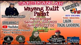 Download Mp3 Pentas Wayang Kulit Padat Dalang  Ki Gandhik Lakon:togog Gandrung
