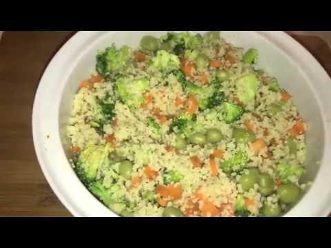 Vegetable couscous // Healthy Low Fat Recipe