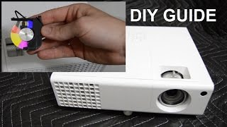 DLP Projector Color Wheel Removal/Replacement Guide ~ Acer H6510BD ~ Improve 3D Printing Speeds