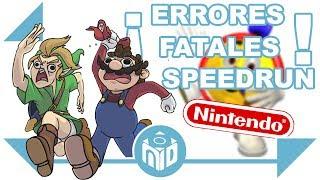 Los 8 Speedrun más DESASTROSOS de Nintendo | N Deluxe