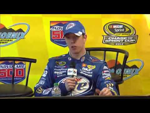 Brad Keselowski Post Race Interview at Phoenix *UNCENSORED*