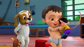 Chinna Papa - Chitti Song | Telugu Rhymes for Children | Infobells