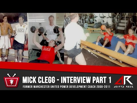 "Mick Clegg Interview Part 1 - #MUFC Power Coach - ""Roy Keane could have been a boxer"""