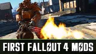 The Very First Fallout 4 Mods - Graphic Shaders, Gun Sounds, NoPlayerVoice, Eyes of Beauty