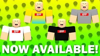 RobloxPlayerPlays Merch is out now!