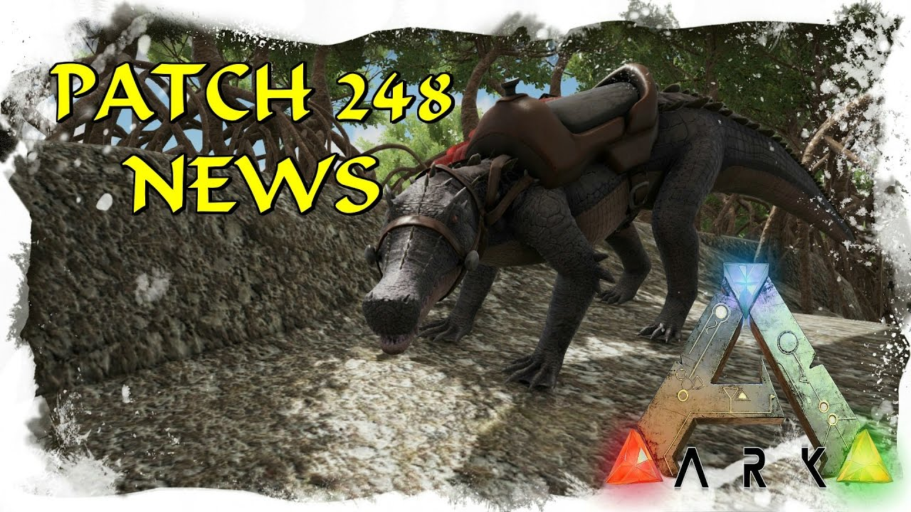 Ark survival evolved patch notes - Ark Survival Evolved Patch 248 German Deutsch Explorer Notes Chalicotherium Mehr Youtube