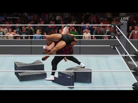 WWE 2K18 Extreme Moments Ep.19 (Featuring Stairs Glitch )