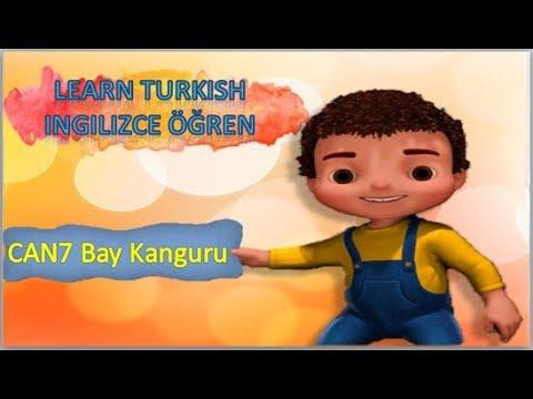 Learn Turkish with Jan - Can'la İngilizce Öğren - Can7 Bay Kanguru