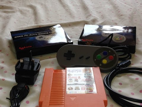 Box Opening And Product Review, Retro Games Console - Over 30K Games All Cables And 2x Controllers