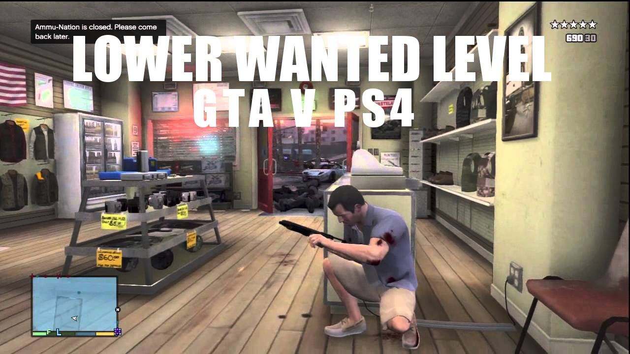 GTA 5 Lower Wanted Level Cheat Codes for PS4 & Xbox One