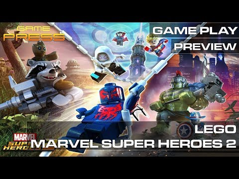 LEGO Marvel Super Heroes 2 - GAME PRESS PLAY PREVIEW