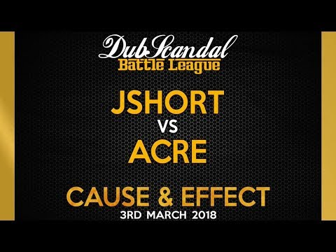 JSHORT VS ACRE | DubScandal Rap Battle