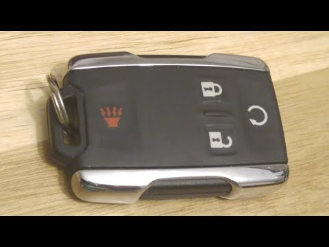 GMC Canyon / Silverado / Sierra Key Fob Battery Replacement – DIY