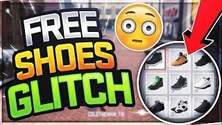 NBA 2K18 FREE SHOES GLITCH 😱 HOW TO UNLOCK FREE SHOES & CLOTHES NBA 2K18! DONT WASTE VC ANYMORE!