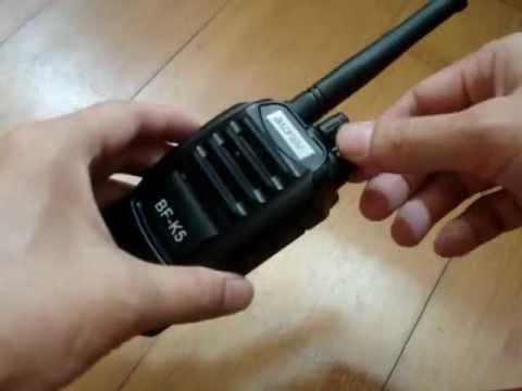 How to listen FM radio on Two Way Radio Walkie Talkie BF-K5