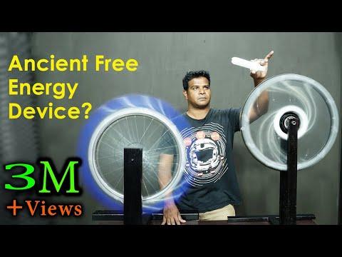 Ancient Free Energy Device Re-created? Original Bhaskara's Wheel