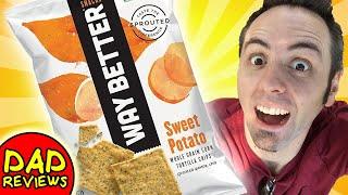 WHOLE GRAIN FOODS   Way Better Snacks Sweet Potato Taste Test & Review