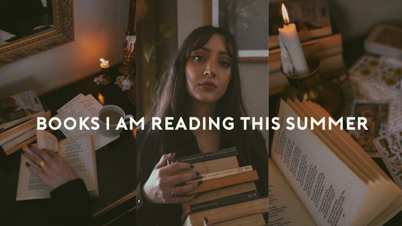 Books I'm Reading This Summer // poetry, fiction, witchcraft TBR 🕯 2021