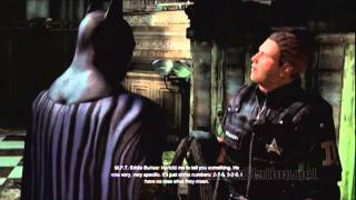 Batman Arkham City:  Riddler Enigma Conundrum, Hostages Room 1