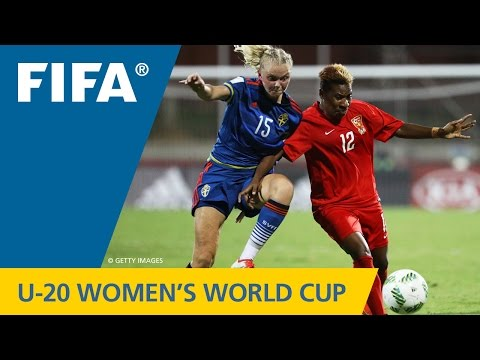 MATCH 9: PAPUA NEW GUINEA v SWEDEN - FIFA Women's U20 Papua New Guinea 2016