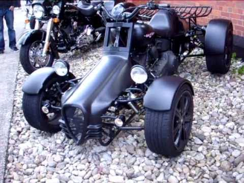 Harley Davidson Q-Tec Softail Quad - YouTube