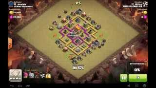 Clash of Clans|THESSALONIKI GR |Th6 Attack Strategy|Balloons 3 Star