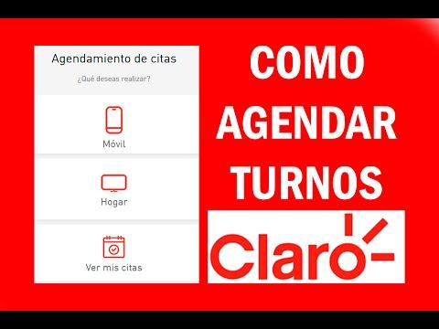 Como agendar Turnos CLARO - 100% EN LÍNEA #CITAS MI CLARO