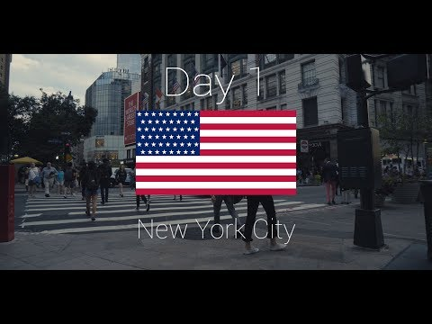 New York City - Day 1 - Anreise (4K)