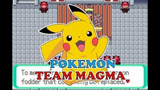 NEW POKEMON TEAM MAGMA HACK ROM GBA,LATEST GENERATION FEATURES AND MUCH MORE!!!