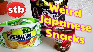 Living in Japan: Weird Snacks ★ SoloTravelBlog