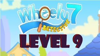 Wheely 7: Detective Level 9 Walkthrough [3 Stars]