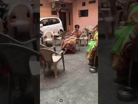 Rithvik and Reyansh are having fun at Nani's place after hanuman chalisa bhajana